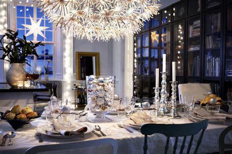 Atractiva  Lamparas De Mesa Zara Home #5: IKEA-Christmas-collection-table-setup-and-chandelier.jpg