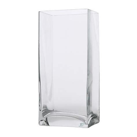 ikea vaso vetro rektangel vaso vetro trasparente