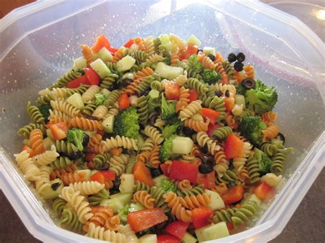 salad with pasta summertime pasta salad robin s recipes n food
