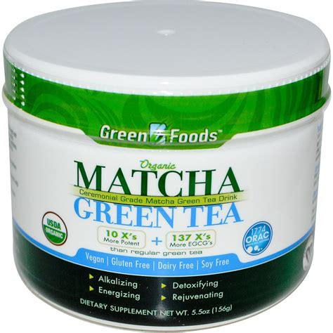 best green tea powder iherb customer reviews green foods corporation