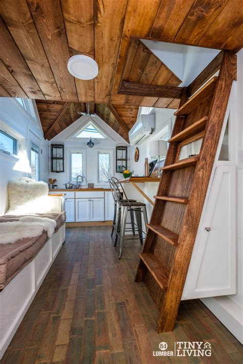 lumber tiny living display model sale tiny house blog