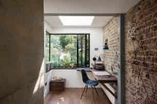 Office Wall Trendy Textural 25 Home Offices With Brick Walls
