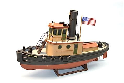 parts of a tugboat ship models wooden kits cast your anchor dumas jenny lee