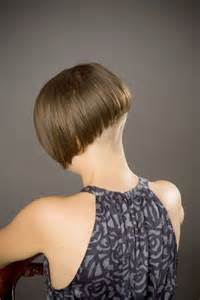 nape of neck haircuts buzzed nape bob haircut long hairstyles