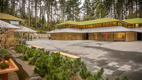 Master House Plans expansion of portland japanese garden by kengo kuma opens
