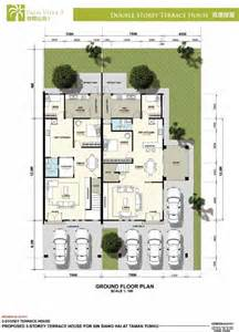 Green Glass Tiles Kitchen - double storey terrace house at palm villa 3 taman tunku miri