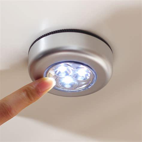 One Touch Light 5pcs 5pcs lot 2015 new mini 100 quality 3 led push tap touch light led emergency light