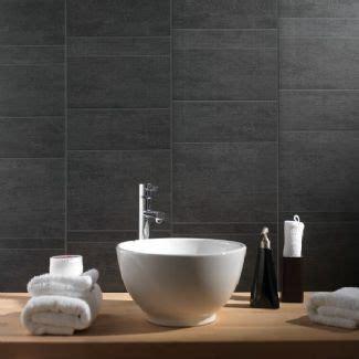 Bathroom Wall Panels Tile Effect Swish Marbrex Anthracite Standard Tile Effect Pvc Bathroom