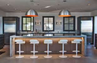 Island Bar Kitchen by Real Modern House Stunning Interiors And Popular