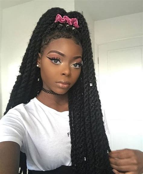 noir ombre marley hair follow cali yatta for more hairstyles pinterest