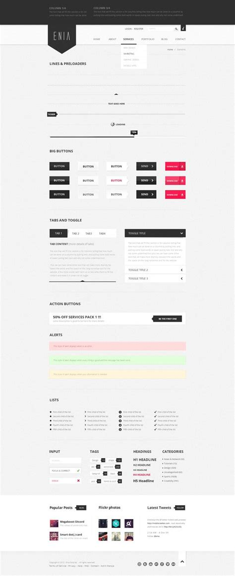 user interface design document template 45 best images about style guides on behance