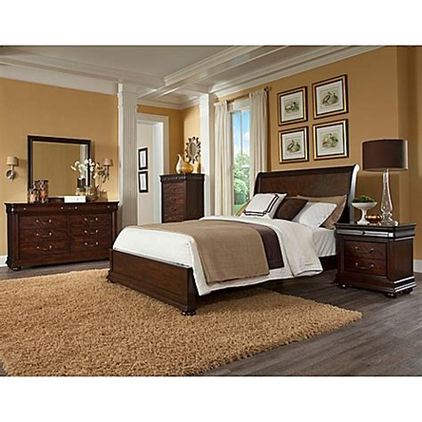 klaussner bedroom furniture klaussner parkview 5 piece bedroom set bed bath beyond