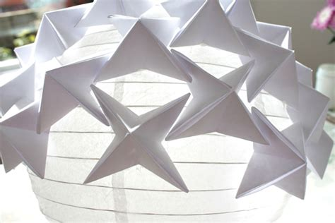 Origami Paper Lantern - how to make a stunning designer look origami paper lantern