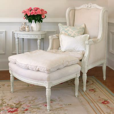 shabby chic chair and ottoman post 11 3 09 brunch at saks flickr