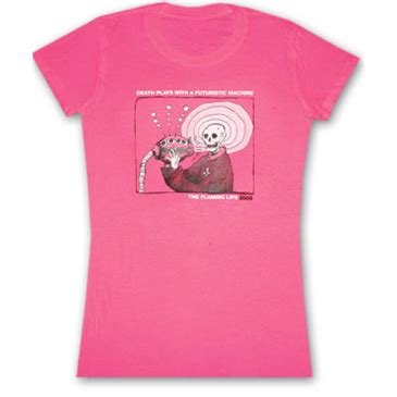 Tshirt The Flaming the flaming futuristic machine pink juniors graphic tshirt for only 163 16 81 at