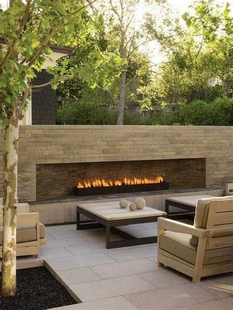 modern outdoor fireplace best 10 outdoor gas fireplace ideas on diy