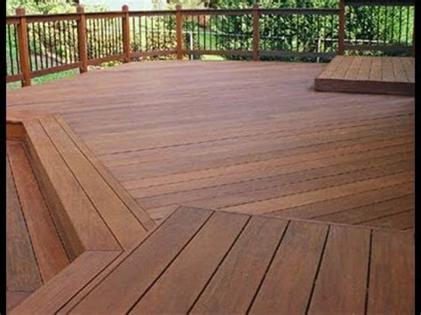 Stained Pine Deck deck repair cypress ca deck refinishing staining