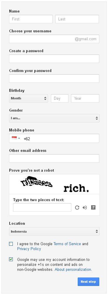 membuat gmail com indonesia cara membuat akun gmail informasi dan jual beli