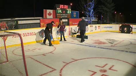 backyard hockey online backyard hockey rink is labour of love for leduc couple