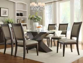 Glass Top Dining Room Tables 15 Stylish Dining Table And Chairs Always In Trend Always In Trend