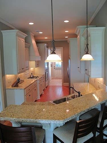 images  breakfast bar area  pinterest breakfast bars galley kitchens  small
