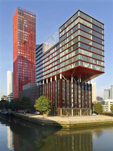 apple netherlands the red apple rotterdam wijnhaven island building e