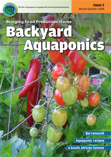 backyard aquaponics emagazine edition 2 backyard magazines