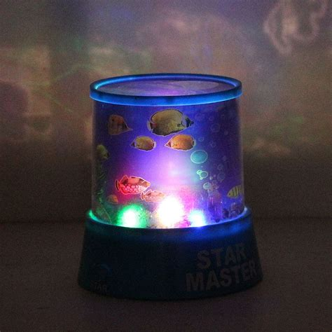 night light projector with music 2016 new battery abs auto rotate led ocean night light