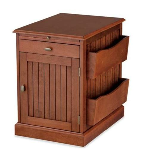 cherry end tables with storage black cherry white magazine rack side end storage table