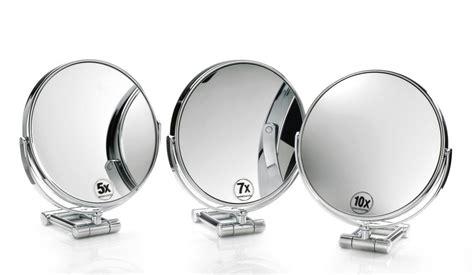 specchio ingranditore illuminato specchio ingranditore 10x e 20x da parete per bagno