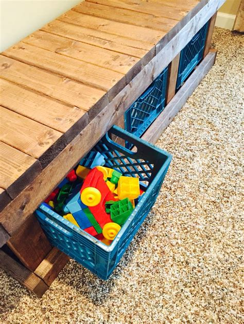 wooden crate bench 33 best images about milk crate projects on pinterest