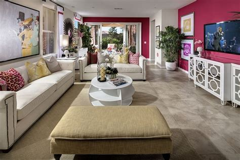 Living Room Side Ls 20 And Cheerful Pink Living Rooms