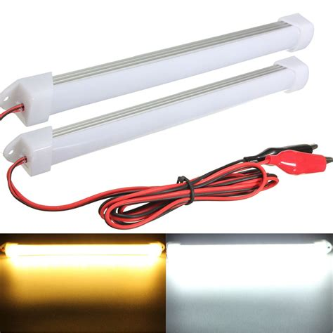 Led Interior Light Bar 2015 New 2pcs 12v Led Car Interior Light Bar L Boat Caravan Motorhome In