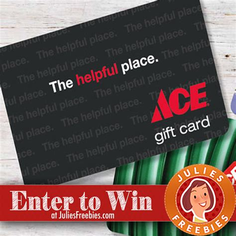 Ace Hardware Sweepstakes 2017 - win an ace hardware gift card freebies list freebies by mail free sles by mail