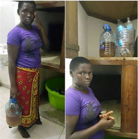 Pees In House by Photos Of Housegirl Using Urine To Cook Employer S Family Food In Mombasa