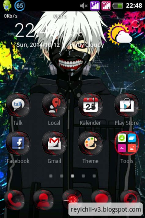 download themes for android anime tokyo ghoul android theme v2 ramleague