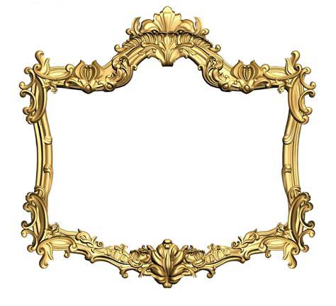 frame design gold free illustration frame carved gold design free