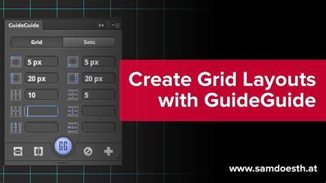 grid layout for photoshop web designer grid generator guideguide photoshop plugin