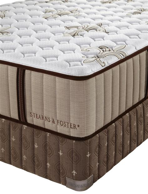 How Much Is A Stearns And Foster Mattress by Stearns Foster Estate Walnut Grove Ultra Firm