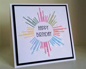 cool and easy birthday cards geburtskarten gestalten 29 ideen zum nachbasteln