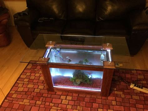diy aquarium coffee table top 10 most easiest coolest diy coffee table designs