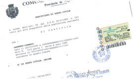 comune di firenze ufficio stato civile anagrafe comune certificati comunali
