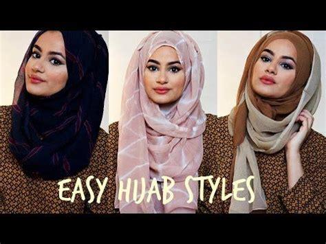 tutorial hijab simple youtube best 25 hijab styles ideas on pinterest style hijab
