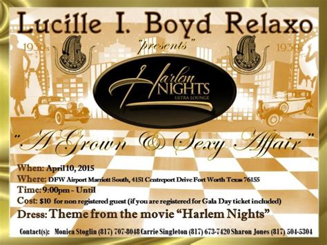 swing dance lessons fort worth luicille boyd relaxo harlem nights party fort worth tx