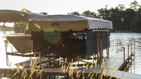 boat dock curtains boat lifts canopies curtains