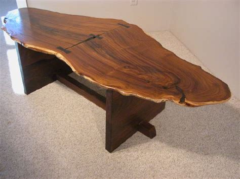 rustic end tables for sale custom wood slab coffee tables dumond s custom furniture