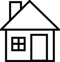 Black And White Home House 56 Clip Art At Clker Com Vector Clip Art Online