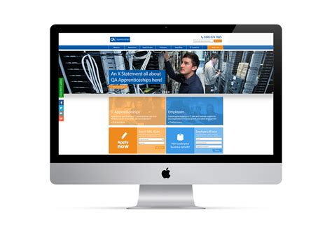 Qa Apprenticeships Website Reskin My Name Is Dan Qa Website Template