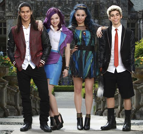 Disney Descendants 2 Sweepstakes - descendants 2 cast meet the cute new characters in the disney channel movie m magazine