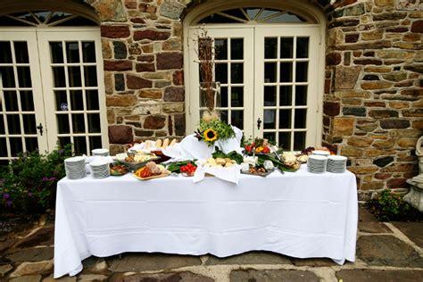 Backyard Wedding Buffet Menu Yellow And White Outdoor Summer Wedding By Kamila Harris